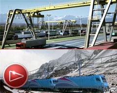 Eurnekian busca unir con un tren el transporte comercial entre Argentina y Chile