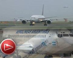Denuncian presiones para la privatización parcial de Aerolíneas Argentinas