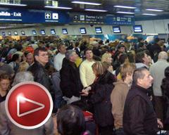 Por qué un conflicto de camioneros afectó la actividad en los aeropuertos