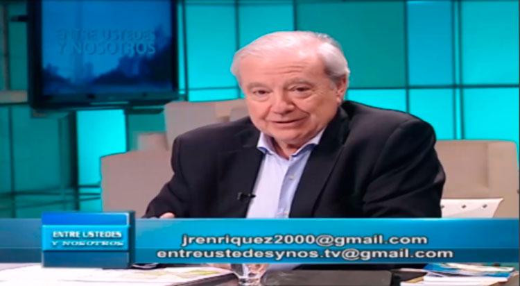 Dr. Jorge Enriquez: 37 o 38 cadenas nacionales ya es fiebre