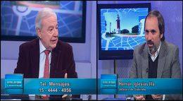Programa del 9 de agosto de Entre Ustedes y Nosotros , invitado :  Waldo Wolf y Juan Pablo Rebora