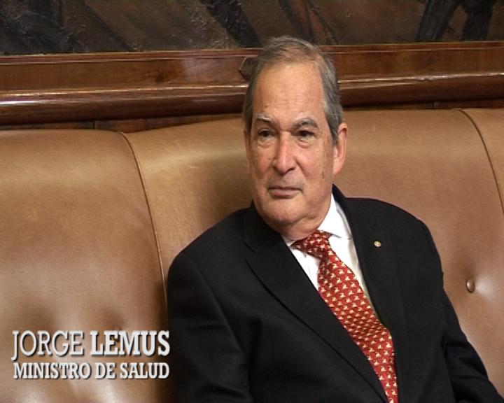 Entrevista exclusiva con el  Dr. Jorge Lemus, Ministro de Salud