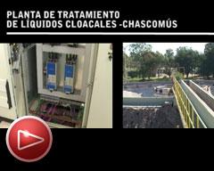 Planta de tratamiento de líquidos cloacales – Chascomus